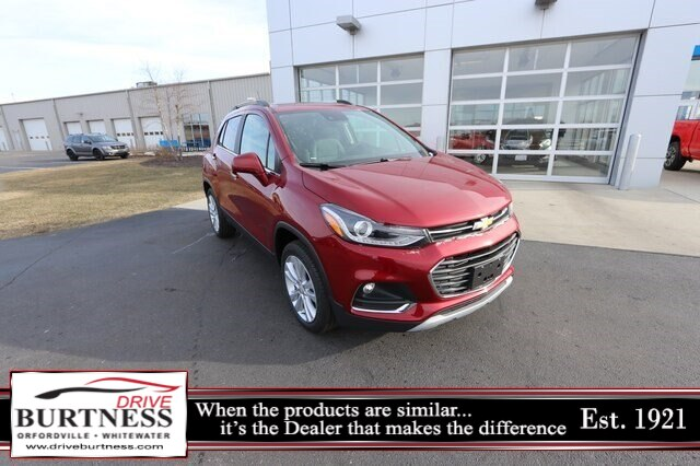 New 2020 Chevrolet Trax Premier AWD SUV Stock 32551