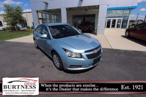 Pre-Owned 2011 Chevrolet Cruze 1LT FWD Sedan