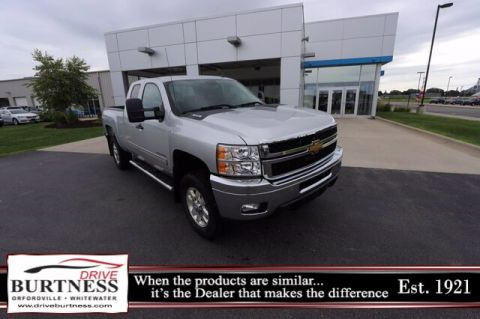 Pre-Owned 2013 Chevrolet Silverado 2500HD LT 4WD Truck